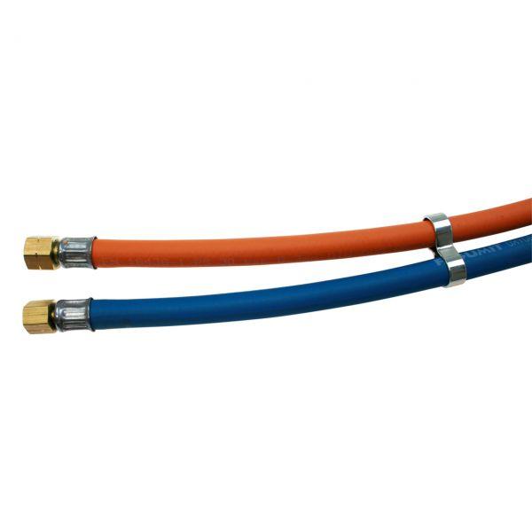 Hochdruckschlauch Propan/Sauerstoff, 9 x 3,5 mm/6 x 5 mm