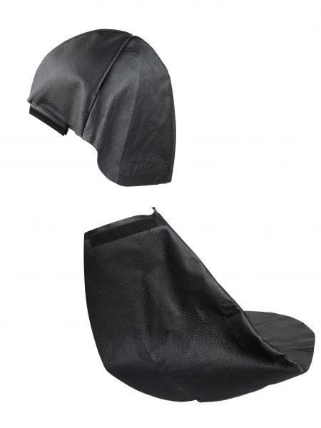 Nackenschutz aus Leder mit Klett für optrel® e-Serie, WKS Produktion