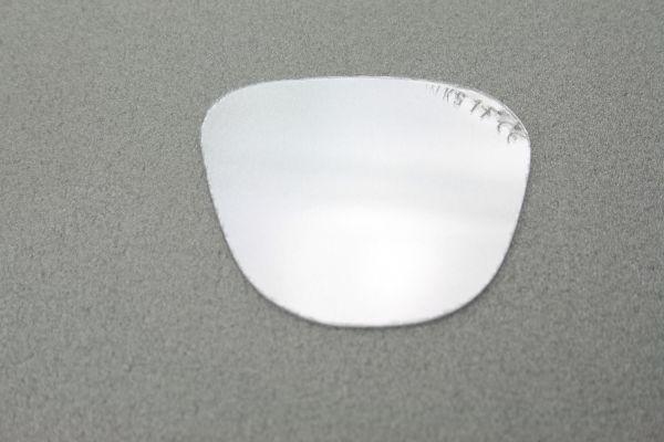 Ersatzgläser, Mineralglas, klar, splitterfrei, 62 x 52 mm, 1 Paar