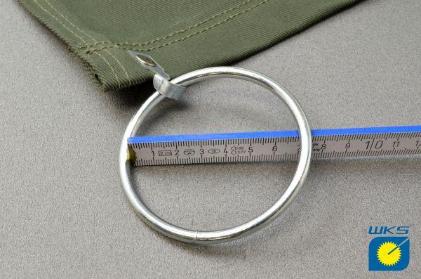 Aufpreis für angenieteten Ring Ø 70 mm (anstatt Ø 50 mm)
