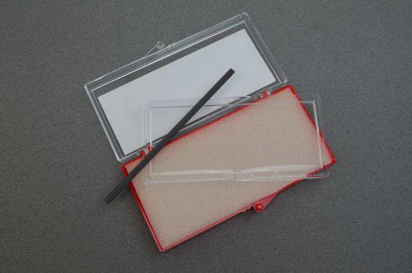 optrel® Korrekturglas für e-Serie, p-Serie, OSC und OSE, 51 x 107 mm