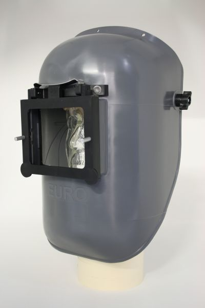 EURO-GF Kopfschirm aus PA/GF, mit Klapprahmen, ohne Glas