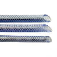 Gewebeschlauch, PVC, klar, 6 x 2,5 mm