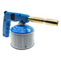 Lötlampe PC140 mit Piezo Zündung, Gaskartusche 230 g/410 ml