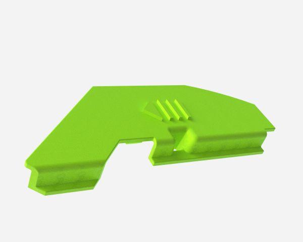 Batterieabdeckung optrel® weldCAP®, schwarz, 2er Pack