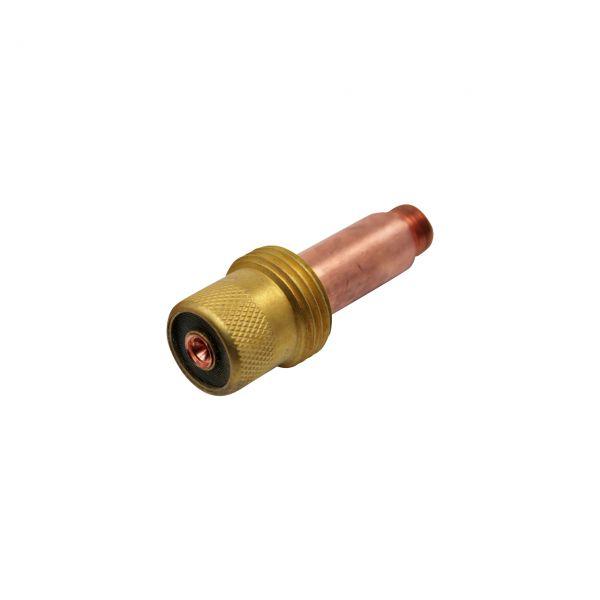 Gaslinse für Brenner Typ 17/18/26, Länge 48,5 mm