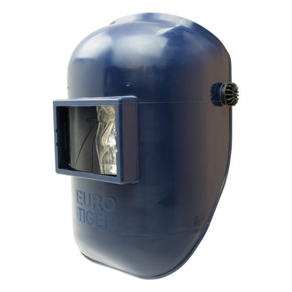 EURO-TIGER Kopfschirm aus PA/GF, mit Kopfband, blau, ohne Glas