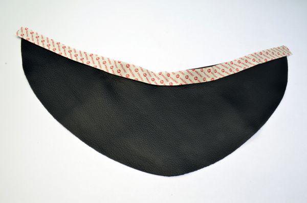 Brustlatz für optrel® OSC aus Leder, Klettverschluss
