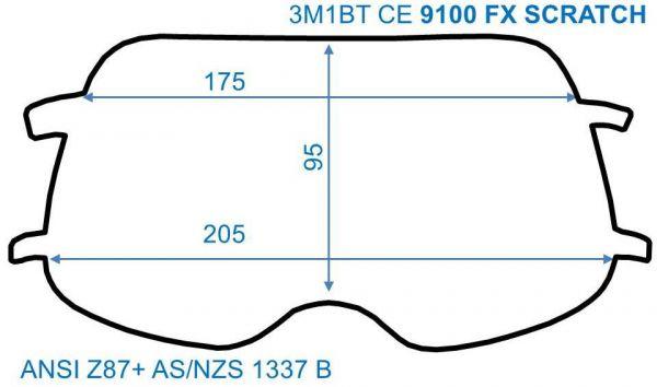 Innenscheiben für SPEEDGLAS 9100 FX (FlexView), STANDARD, 5er Pack