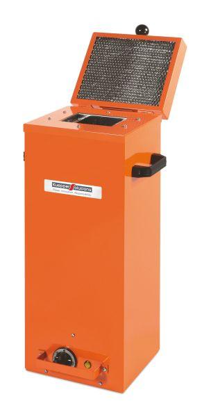 Schweißelektrodetrockner für 2 Pakete, 230 V, max. 300°C