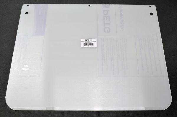 Ersatzscheibe für 420023, ohne Rahmen, klar, 360 x 280 x 1 mm