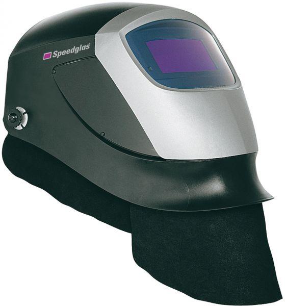 Ohr-Halsschutz für SPEEDGLAS 9000/100, Leder mit Klettverschluss, 3-teilig