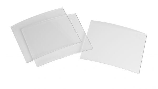 Vorsatzscheibe für optrel® OSC, 86 x 110 x 1 mm, 10 Stück/Pack