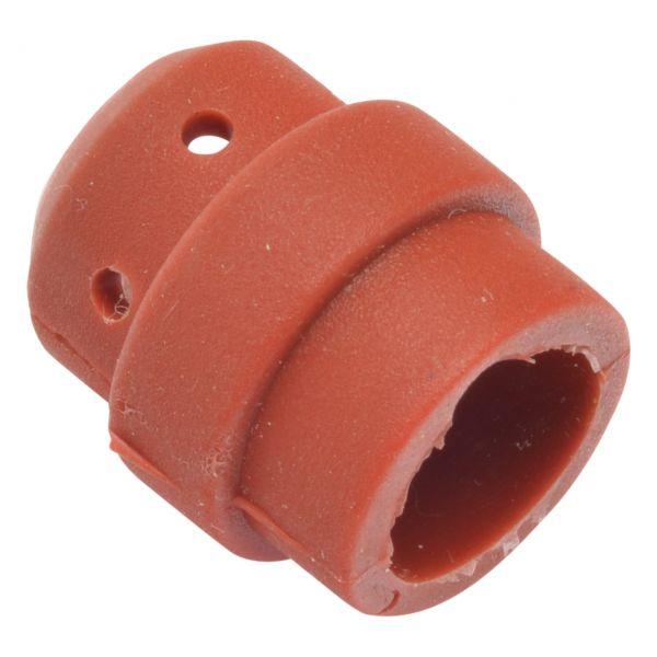 Gasverteiler PLUS 24, Silikon, rot, Länge 20 mm