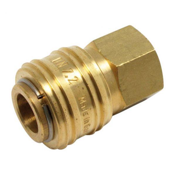 Druckluftkupplung NW 7,2 mm, 1/4'' RH Innengewinde