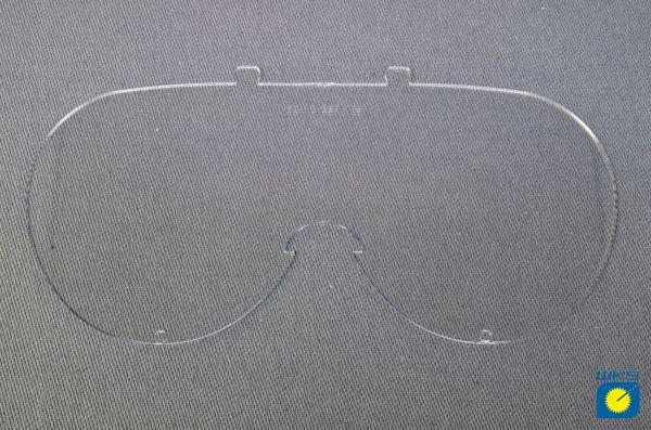 Ersatzscheibe für Vollsichtbrille, antibeschlag, klar