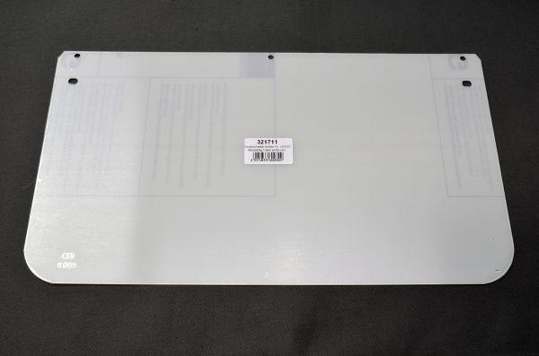Ersatzscheibe für 420022, ohne Rahmen, klar, 360 x 200 x 1 mm