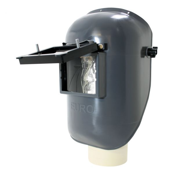EURO-GF Kopfschirm aus PA/GF, mit Klapprahmen, mit Glas
