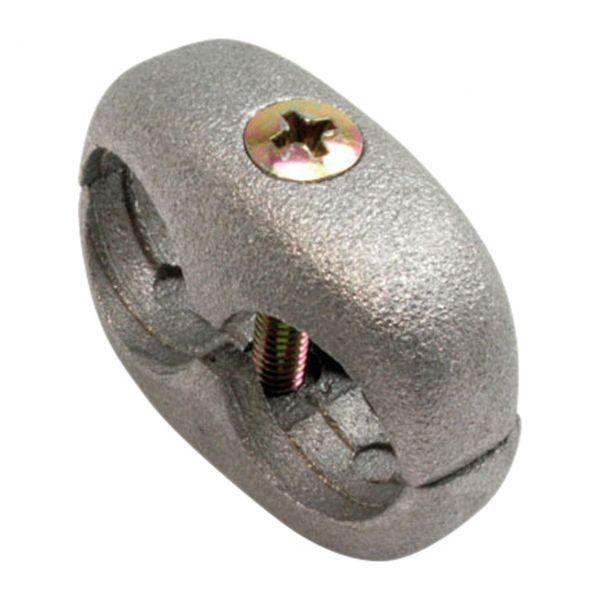Assklemmen aus Aluminium Ø 16/16 mm