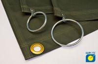 Ring Ø50mm mit Haken und Niete zusätzlich
