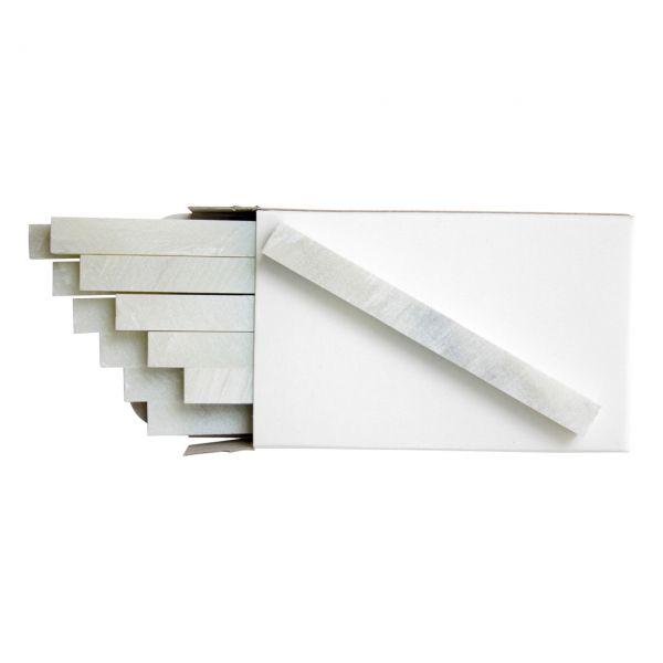 Schweißerkreide, Speckstein, natur, 10 x 10 x 100 mm, 12 Stück/Pack