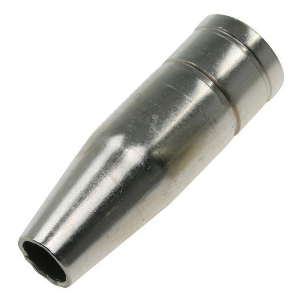 Gasdüse Plus 15 für Schaft Ø 12 mm, gesteckt, Länge 54 mm