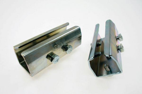 Verbindungsmuffe für Schienen (Stahlprofil C-45)