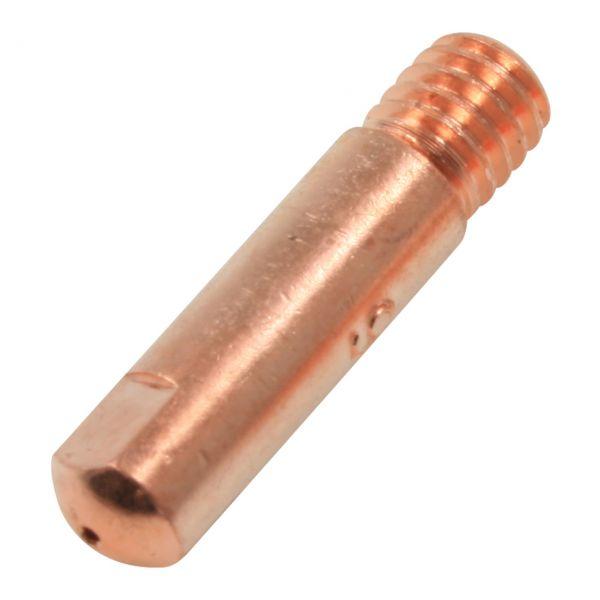Stromdüse aus E-Kupfer, Brenner Typ 15/24, M6 x 25 mm