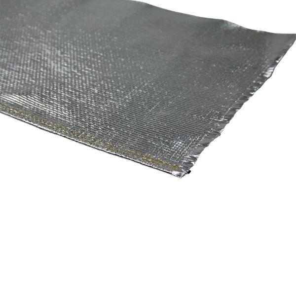 Hitzeschutzgewebe, 200 °C belastbar, einseitig mit Alufolie, Rollenware 1,0 m