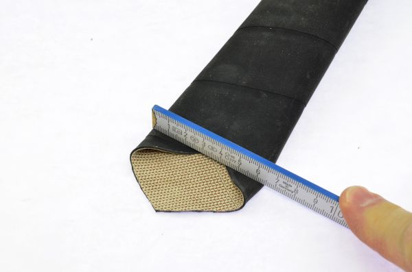 Schutzschlauch Gewebe, 40x1,5mm