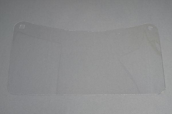 Ersatzscheibe, klar, 460 x 240 x 1 mm