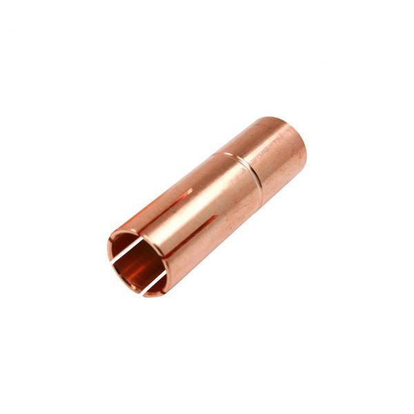 Gasdüse für FRONIUS® AL2300/AW2500 (Nachbau), konisch, Länge 66 mm, Ø 17 mm