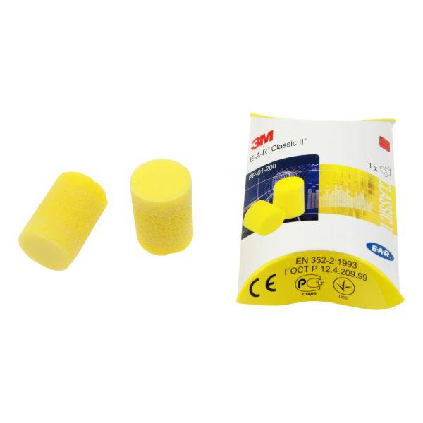 3M E-A-R Classic II Gehörschutzstöpsel, gelb