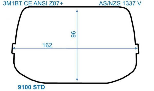 Äußere Scheiben SPEEDGLAS 9100/ G5-01, STANDARD, 10er Pack