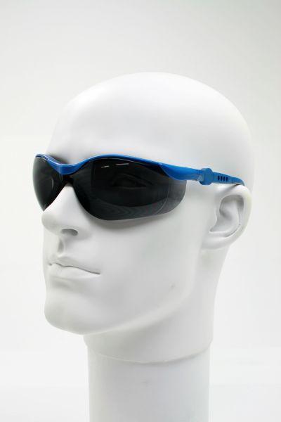 Schutzbrille SPORT mit grauer PC-Scheibe, UV-Schutz 0 - 400 nm