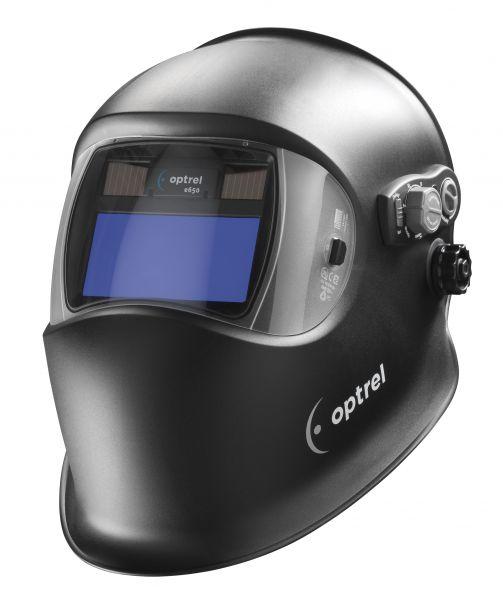 optrel® e650 Automatikkopfschirm DIN 9-13, Sichtfeld 50 x 100 mm, schwarz